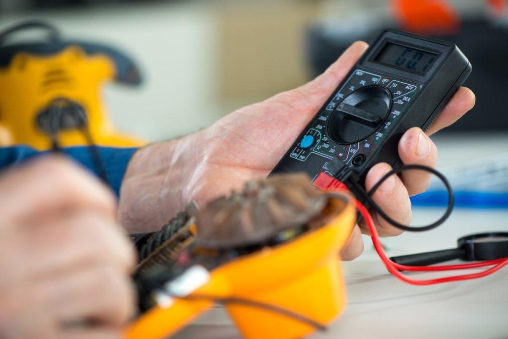 Elektro revize nářadí