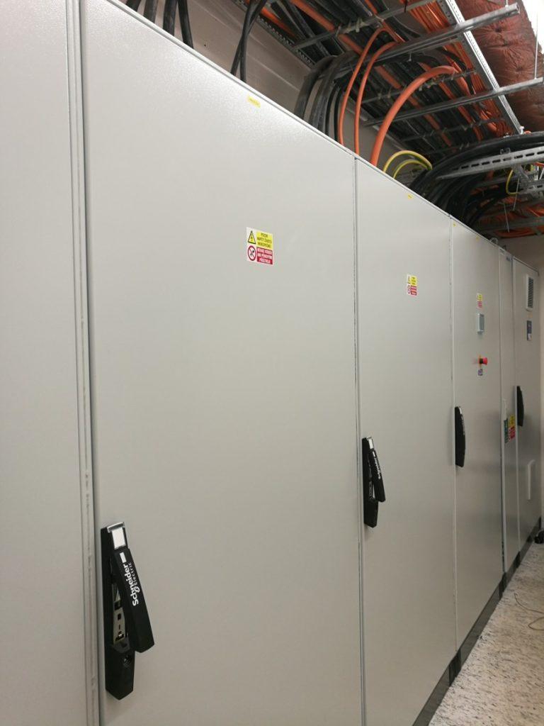 Elektroinstalace jištění zařízení