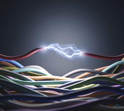 Elektroinstalace kabely