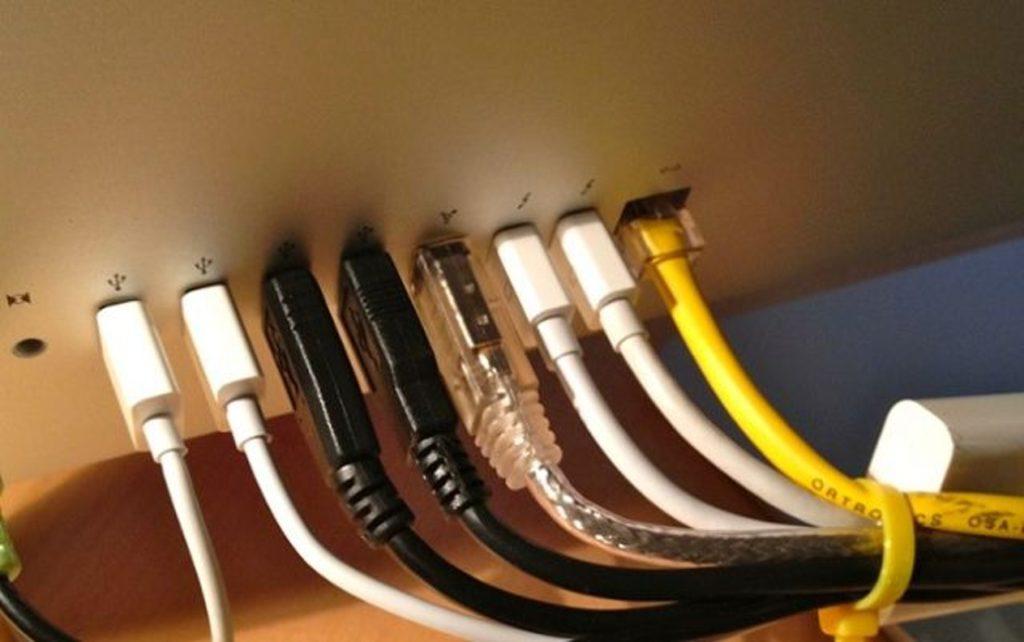 Elektroinstalace revize kabely