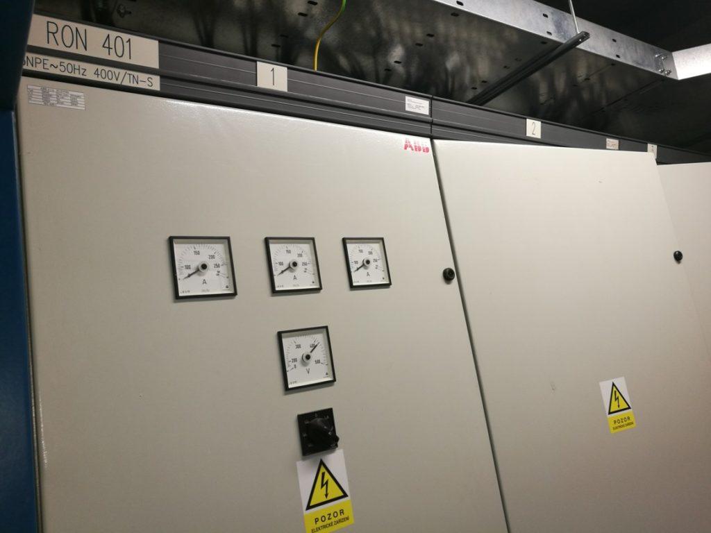 Elektroinstalace rozmístění zařízení
