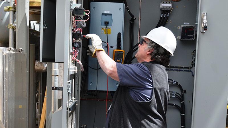 Revize elektro centrály