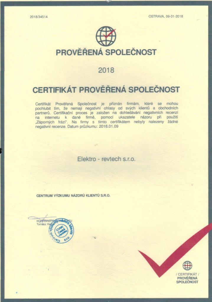 Certifikace a Kvalifikace