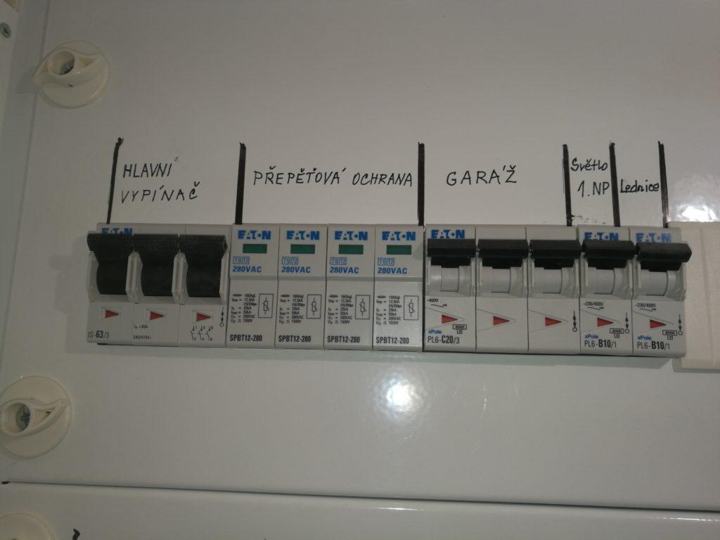 Revize elektroinstalace a kontroly